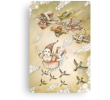 Dream of flying Canvas Print