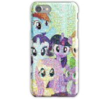My Little Pony - Photograph Mosaic iPhone Case/Skin