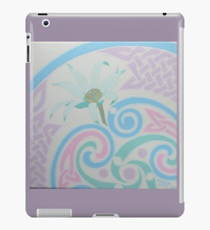 Flannel Flowers detail iPad Case/Skin