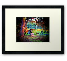 Home, Sweet Home in the Doghouse Framed Print