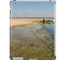 Tide's Out at Fouras iPad Case/Skin