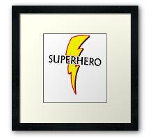 superhero Framed Print