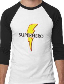 superhero Men's Baseball ¾ T-Shirt