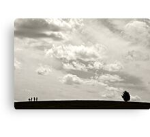 At the Edge of Nowhere Canvas Print