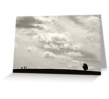 At the Edge of Nowhere Greeting Card