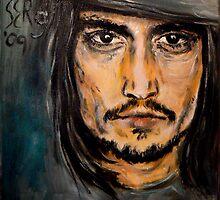Johnny Depp by 5erg