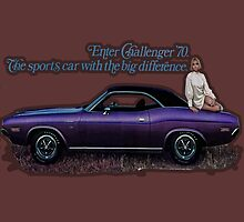 1970 Challenger by Mike Pesseackey (crimsontideguy)