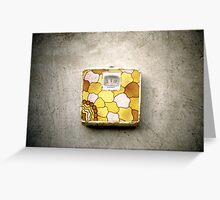 Vintage Weight Scale Greeting Card