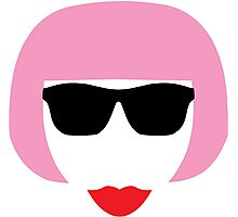 Girl Face Shampoo Photographic Print