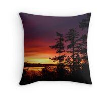 Oak Harbor Sunrise Two Throw Pillow
