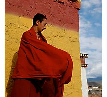 Young monk Photographic Print