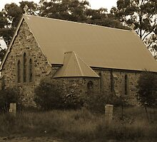 Unknown and Abandoned Church by Evita