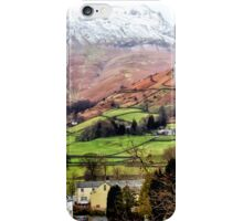 Snow Topped Fells iPhone Case/Skin
