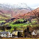 Snow Topped Fells by Vicki Field
