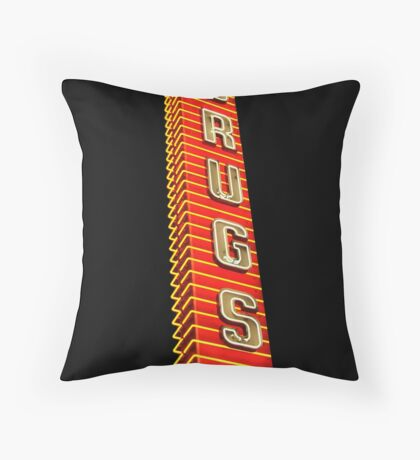 Drugstore Dreams Throw Pillow