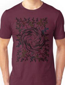 many running lizards Unisex T-Shirt