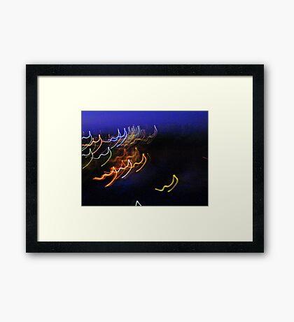 light strings singalong Framed Print