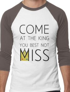 Come At The King Men's Baseball ¾ T-Shirt