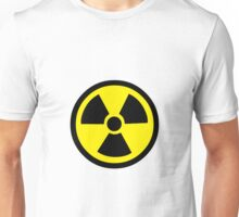 Warning Symbol for Radioactivity Unisex T-Shirt