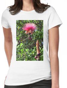 Shaving Brush Tree 4 Womens Fitted T-Shirt