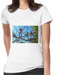 Shaving Brush Tree 5 Womens Fitted T-Shirt