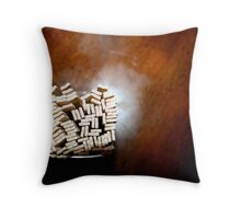 tooth.picks Throw Pillow