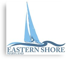 Eastern Shore - Maryland. Canvas Print