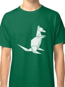Origami Kangaroo Classic T-Shirt