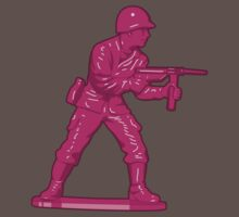 Toy Soldier [pink] by Vincent Poke