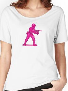 Toy Soldier [pink] Women's Relaxed Fit T-Shirt