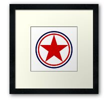 Korean People's Air Force - Roundel Framed Print