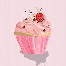 Cherry Cake by Prettyinpinks