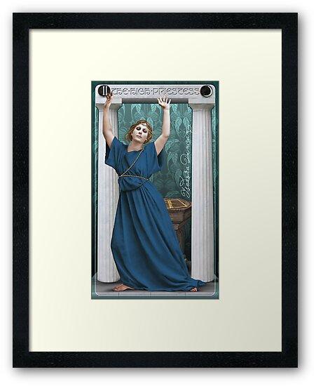 Tarot: The High Priestess (II) by Ivy Izzard