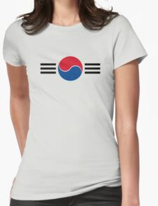 Republic of Korea Air Force - Roundel Womens Fitted T-Shirt