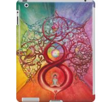 """Heart of Infinity"" - Mandala of Wealth and Balance iPad Case/Skin"