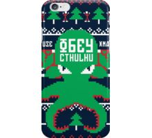 Refuse Christmas, Obey Cthulhu iPhone Case/Skin
