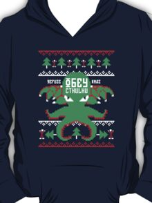Refuse Christmas, Obey Cthulhu T-Shirt