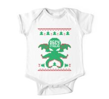 Refuse Christmas, Obey Cthulhu One Piece - Short Sleeve