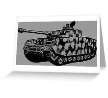Panzer IV Greeting Card