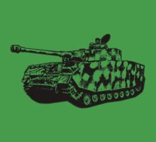 Panzer IV One Piece - Short Sleeve