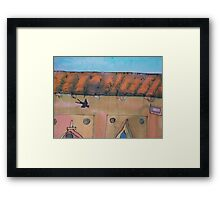 Swallow in Fierenze (Florence) Framed Print