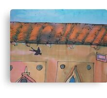 Swallow in Fierenze (Florence) Canvas Print