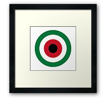 Kuwait Air Force - Roundel Framed Print