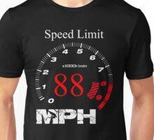 Speed Limit 88 MPH Unisex T-Shirt