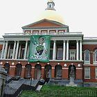 State House Capitol Beacon St Boston MA  by Rebecca Bryson