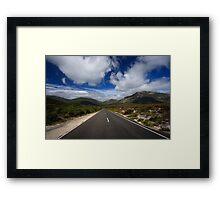 Mount Oberon Framed Print