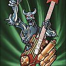Missile Guitar 002 by Ian Sokoliwski