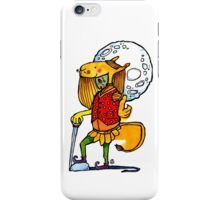 Sir Montague by the Light of the Moon iPhone Case/Skin
