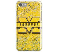 Michigan Forever iPhone Case/Skin