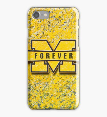 Michigan Forever iPhone Case/Skin